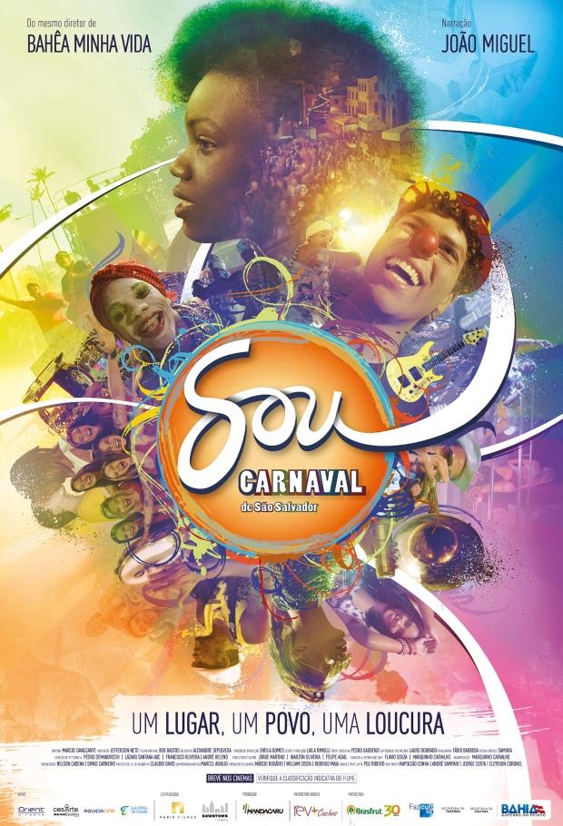 Pôster - Eu Sou o Carnaval