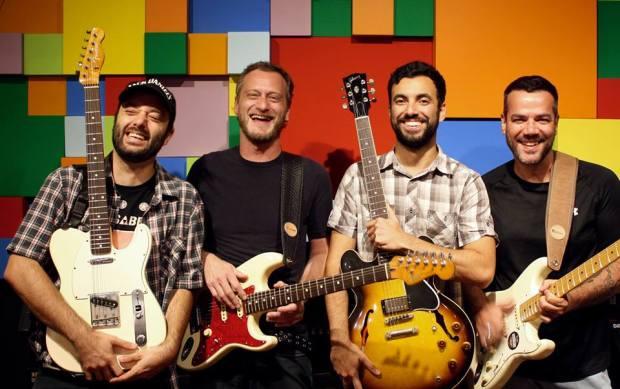 Os Guitarreros - Por Lu Belinazo